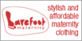 Barefoot Maternity Clothing  Logo