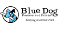 Blue Dog Posters Logo
