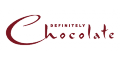 Definitely Chocolate  Logo